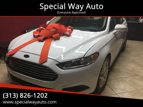 2013 Ford Fusion for sale at Special Way Auto in Hamtramck MI