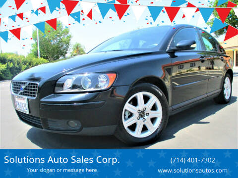 2005 Volvo S40 for sale at Solutions Auto Sales Corp. in Orange CA