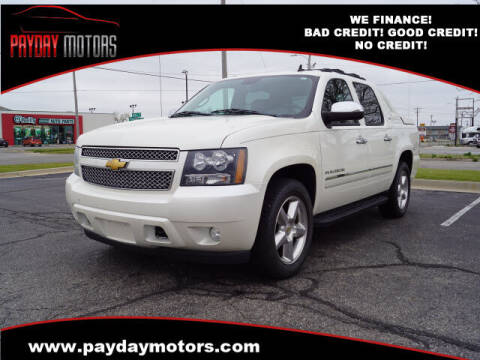 2012 Chevrolet Avalanche for sale at Payday Motors in Wichita KS
