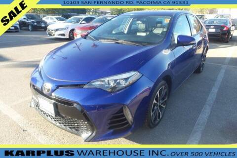 2018 Toyota Corolla for sale at Karplus Warehouse in Pacoima CA