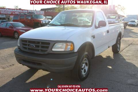 2002 Ford F-150 for sale at Your Choice Autos - Waukegan in Waukegan IL