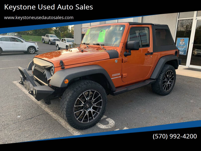 2011 Jeep Wrangler for sale at Keystone Used Auto Sales in Brodheadsville PA
