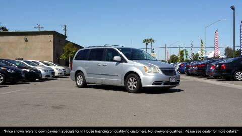 2012 Chrysler Town and Country for sale at Westland Auto Sales in Fresno CA