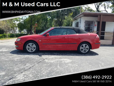 2006 Saab 9-3 for sale at M & M Used Cars LLC in Daytona Beach FL