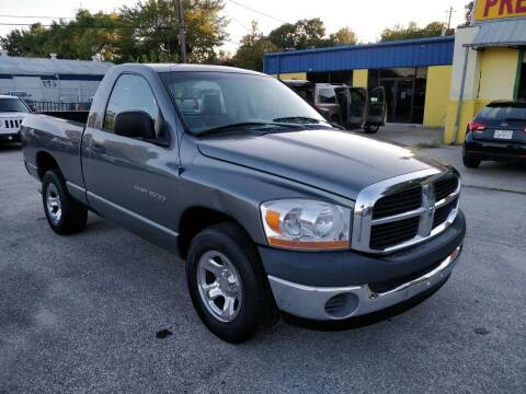 2006 Dodge Ram Pickup 1500 for sale at PREMIER MOTORS OF PEARLAND in Pearland TX