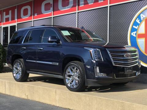 2017 Cadillac Escalade for sale at Alfa Romeo & Fiat of Strongsville in Strongsville OH