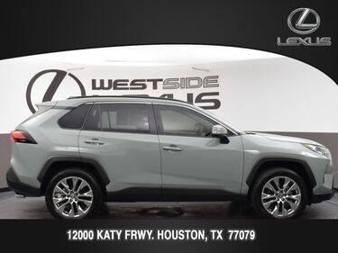 2021 Toyota RAV4 for sale at LEXUS in Houston TX