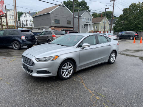 2016 Ford Fusion for sale at Capital Auto Sales in Providence RI