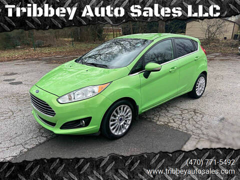 2014 Ford Fiesta for sale at Tribbey Auto Sales in Stockbridge GA