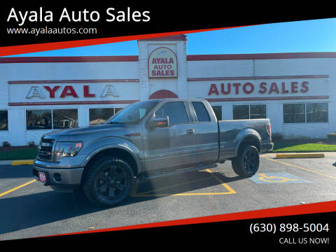 2013 Ford F-150 for sale at Ayala Auto Sales in Aurora IL