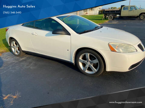 2007 Pontiac G6 for sale at Huggins Auto Sales in Hartford City IN