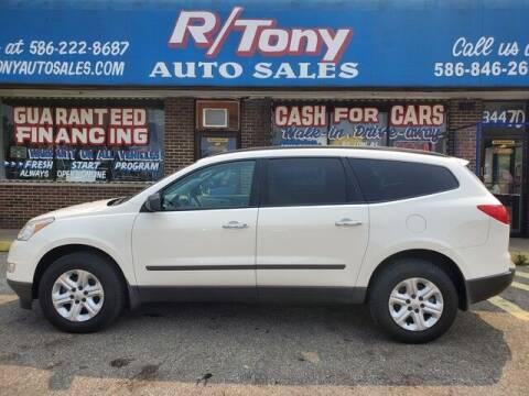 2011 Chevrolet Traverse for sale at R Tony Auto Sales in Clinton Township MI