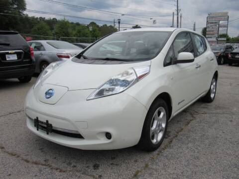 2012 Nissan LEAF for sale at King of Auto in Stone Mountain GA