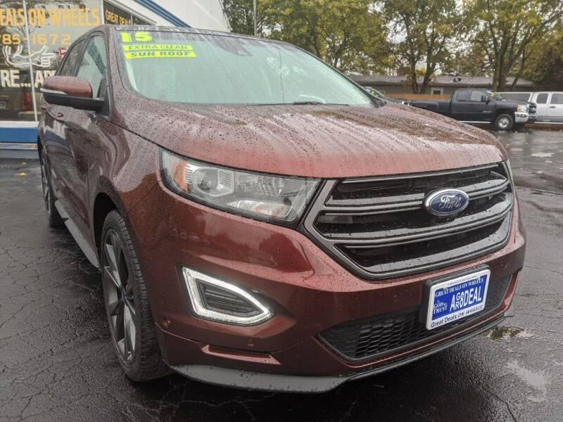 2015 Ford Edge for sale at GREAT DEALS ON WHEELS in Michigan City IN