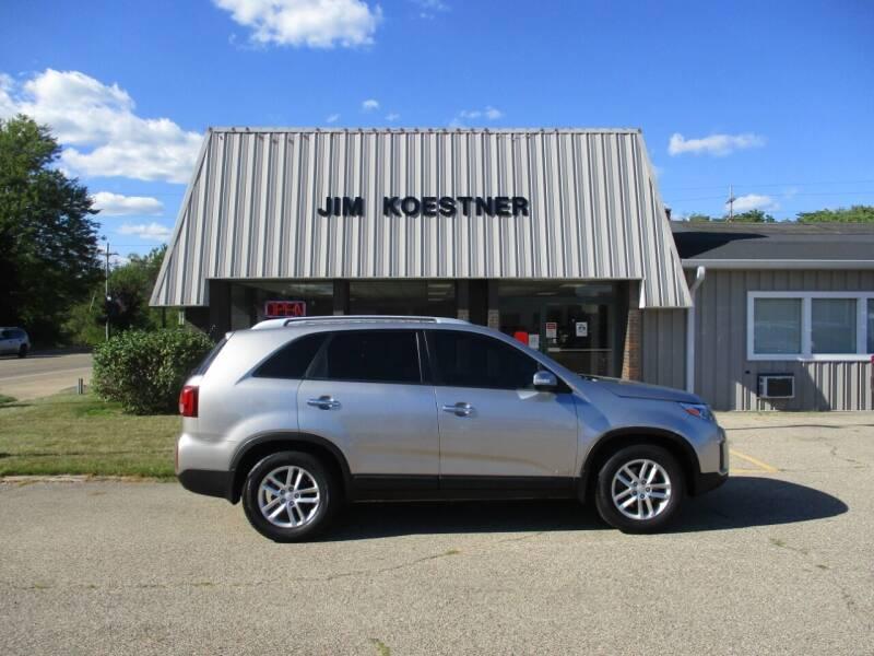 2015 Kia Sorento for sale at JIM KOESTNER INC in Plainwell MI