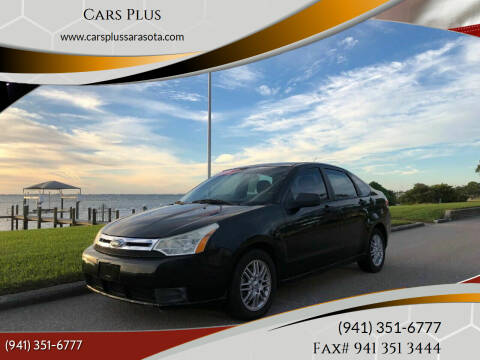 2009 Ford Focus for sale at Cars Plus in Sarasota FL