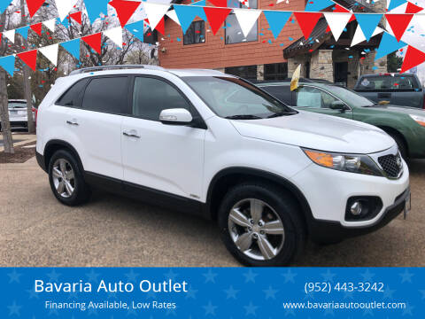 2013 Kia Sorento for sale at Bavaria Auto Outlet in Victoria MN