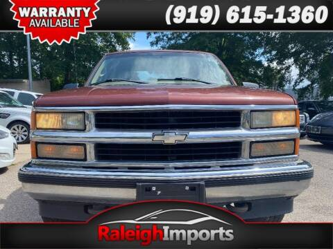 1998 Chevrolet C/K 1500 Series for sale at Raleigh Imports in Raleigh NC