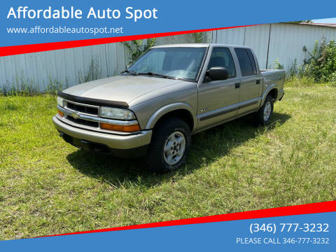 2004 Chevrolet S-10 for sale at Affordable Auto Spot in Houston TX