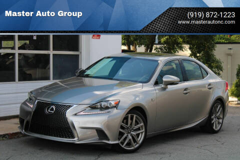 2016 Lexus IS 350 for sale at Master Auto Group in Raleigh NC
