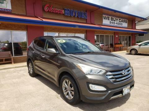 2014 Hyundai Santa Fe Sport for sale at Ohana Motors in Lihue HI
