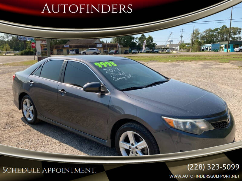 2014 Toyota Camry for sale at Autofinders in Gulfport MS