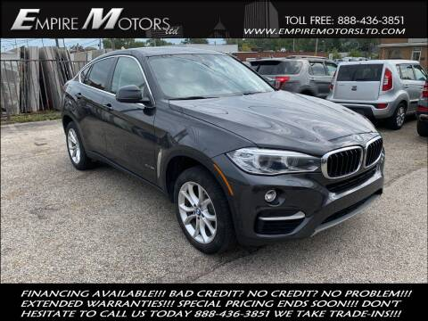 2016 BMW X6 for sale at Empire Motors LTD in Cleveland OH