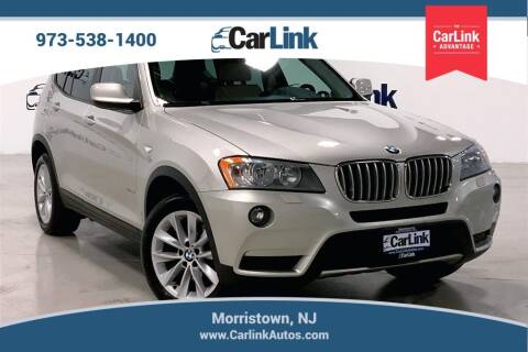 2014 BMW X3 for sale at CarLink in Morristown NJ