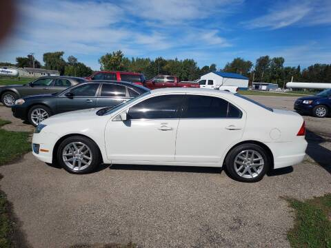 2012 Ford Fusion for sale at Steve Winnie Auto Sales in Edmore MI