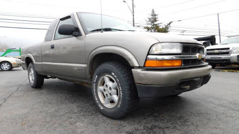 2003 Chevrolet S-10 for sale at Action Automotive Service LLC in Hudson NY