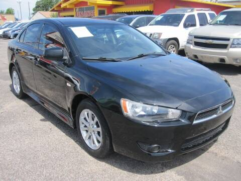 2011 Mitsubishi Lancer for sale at T & D Motor Company in Bethany OK