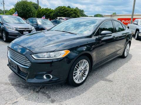 2013 Ford Fusion for sale at VENTURE MOTOR SPORTS in Virginia Beach VA