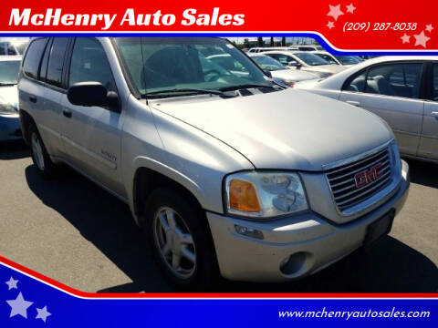 2006 GMC Envoy for sale at McHenry Auto Sales in Modesto CA
