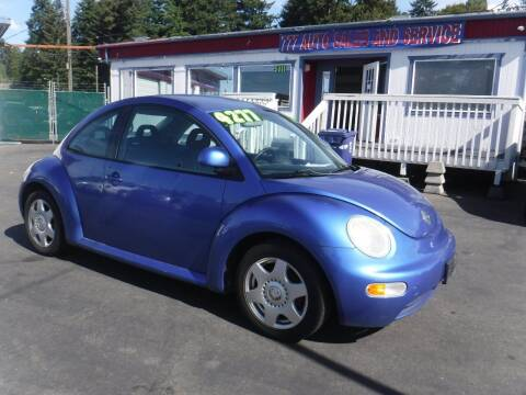 1998 Volkswagen New Beetle for sale at 777 Auto Sales and Service in Tacoma WA