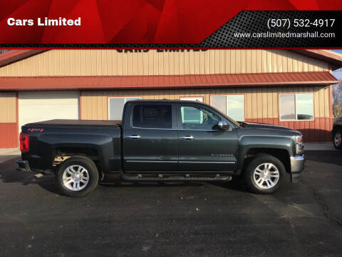 2018 Chevrolet Silverado 1500 for sale at Cars Limited in Marshall MN