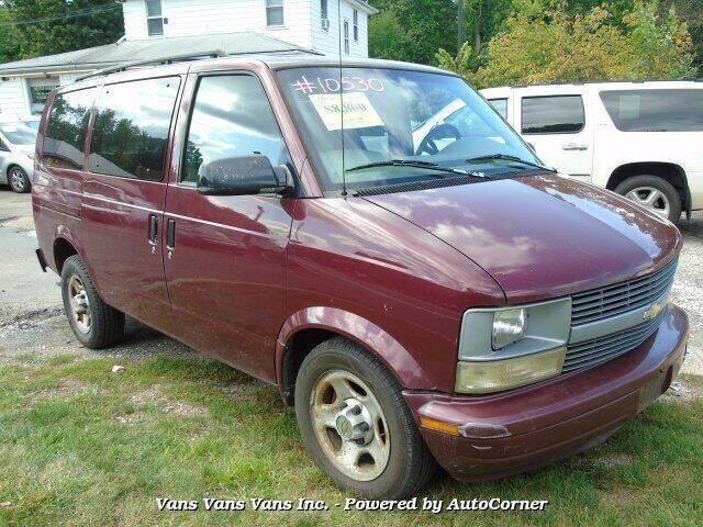 2005 Chevrolet Astro for sale at Vans Vans Vans INC in Blauvelt NY