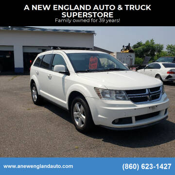 2011 Dodge Journey for sale at A NEW ENGLAND AUTO & TRUCK SUPERSTORE in East Windsor CT
