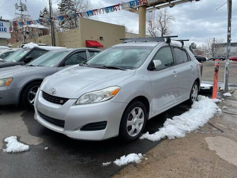 2009 Toyota Matrix for sale at Capitol Hill Auto Sales LLC in Denver CO