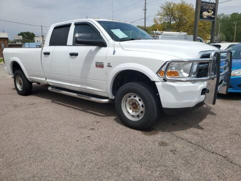 2011 RAM Ram Pickup 3500 for sale at RIVERSIDE AUTO SALES in Sioux City IA