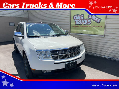 2009 Lincoln MKX for sale at Cars Trucks & More in Howell MI