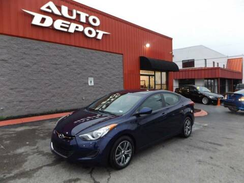 2012 Hyundai Elantra for sale at Auto Depot - Nashville in Nashville TN