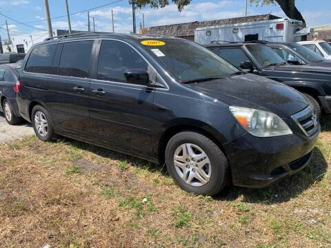 2007 Honda Odyssey for sale at YID Auto Sales in Hollywood FL