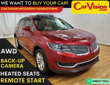 2017 Lincoln MKX for sale at Car Vision Mitsubishi Norristown in Trooper PA