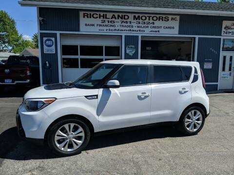 2016 Kia Soul for sale at Richland Motors in Cleveland OH