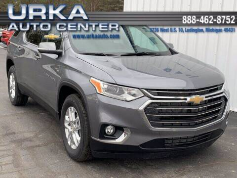 2021 Chevrolet Traverse for sale at Urka Auto Center in Ludington MI