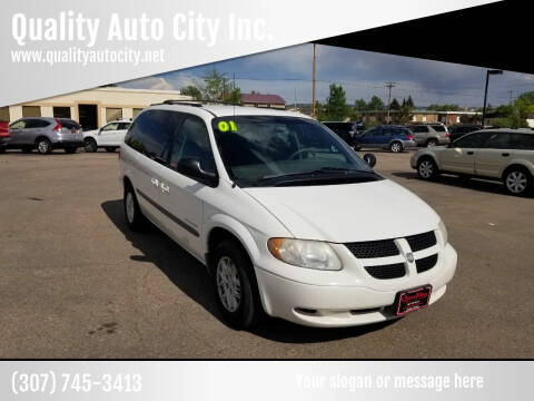 2001 Dodge Grand Caravan for sale at Quality Auto City Inc. in Laramie WY