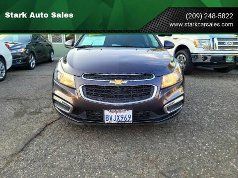 2016 Chevrolet Cruze Limited for sale at Stark Auto Sales in Modesto CA