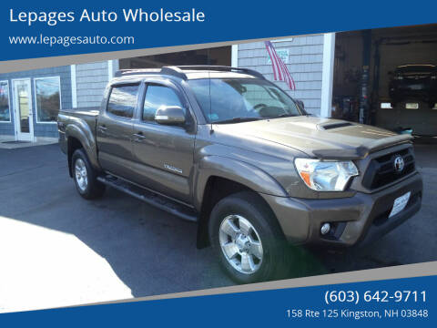 2013 Toyota Tacoma for sale at Lepages Auto Wholesale in Kingston NH