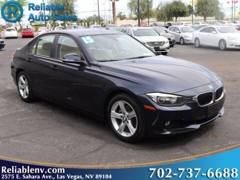 2015 BMW 3 Series for sale at Reliable Auto Sales in Las Vegas NV