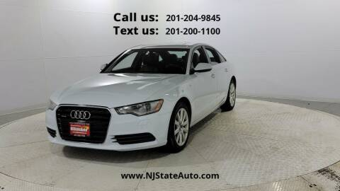 2014 Audi A6 for sale at NJ State Auto Used Cars in Jersey City NJ